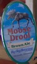 Big Sky Moose Drool Brown Ale - Brown Ale