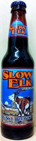 Big Sky Slow Elk Oatmeal Stout - Sweet Stout