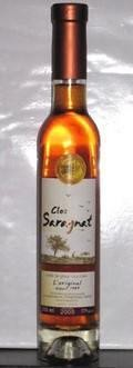 Clos Saragnat Ice Cider - Ice Cider/Perry