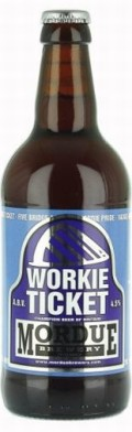 Mordue Workie Ticket - Bitter