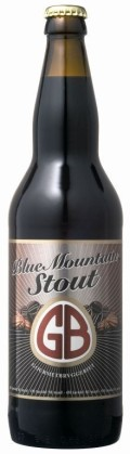 Gourmetbryggeriet Blue Mountain Stout - Stout