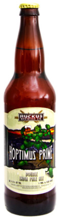Ruckus Hoptimus Prime - Imperial/Double IPA