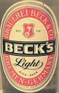 Becks Light - Pale Lager