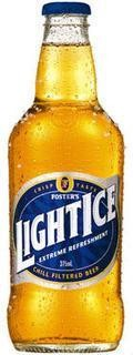 Fosters Light Ice - Low Alcohol