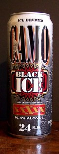 Camo Black Ice High Gravity Lager - Malt Liquor