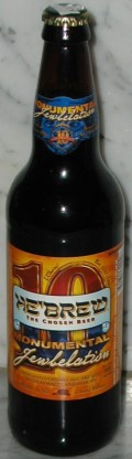 HeBrew Monumental Jewbelation Tenth Anniversary Ale - American Strong Ale