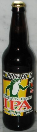Hoppin Frog Hoppin to Heaven IPA - India Pale Ale &#40;IPA&#41;