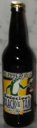Hoppin Frog Bodacious Black & Tan - American Strong Ale 