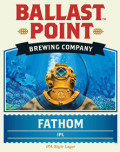 Ballast Point Fathom India Pale Lager - Strong Pale Lager/Imperial Pils