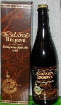 Schlafly Reserve Barleywine Style Ale Aged On Oak - Barley Wine