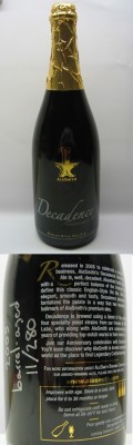 AleSmith Barrel Aged Decadence 2005  - Old Ale