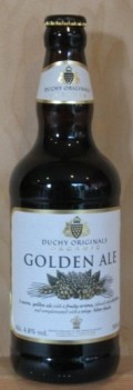 Duchy Originals Organic Golden Ale - Golden Ale/Blond Ale