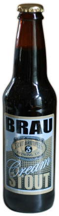 Brau Brothers Cream Stout - Sweet Stout