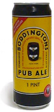 Boddingtons Pub Ale (Can) - Bitter