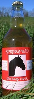Springfield Old Barn Cider - Cider