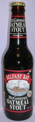 Belfast Bay McGoverns Oatmeal Stout - Sweet Stout