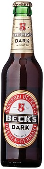 Becks Dark - Dunkel/Tmav