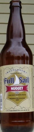 Full Sail Nugget Special Red Ale - Amber Ale