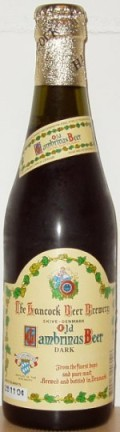 Hancock Old Gambrinus Beer Dark - Doppelbock