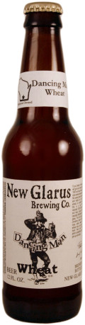 New Glarus Dancing Man Wheat - German Hefeweizen
