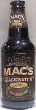 MacTarnahans Blackwatch Cream Porter - Porter