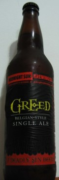 Midnight Sun 2007 Deadly Sins: Greed - Belgian Ale