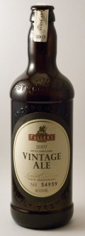 Fullers Vintage Ale 2007 - English Strong Ale