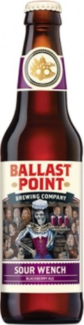 Ballast Point Sour Wench Blackberry Ale - Fruit Beer