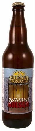 French Broad Gateway Kolsch - K�lsch