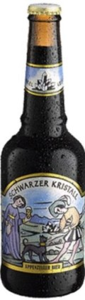 Locher Appenzeller Schwarzer Kristall - Schwarzbier