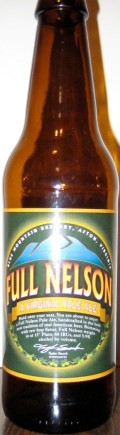 Blue Mountain Full Nelson Pale Ale - American Pale Ale