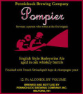 Pennichuck Pompier - Barley Wine