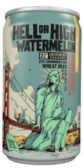 21st Amendment Hell or High Watermelon Wheat - Fruit Beer