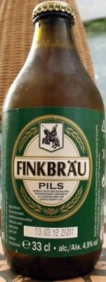Finkbru Pils / Pilsener - Pale Lager