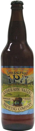 Anderson Valley 20th Anniversary Imperial IPA - Imperial/Double IPA
