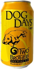 Two Brothers Dog Days Dortmunder Style Lager - Dortmunder/Helles