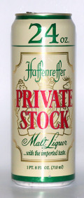 Haffenreffer Private Stock Malt Liquor - Malt Liquor