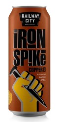 Railway City Iron Spike Copper Ale - Amber Ale