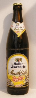 Haller-Lwenbru Meistergold Radler - Fruit Beer