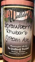 Walldorff Strawberry Rhubarb Cream Ale - Fruit Beer