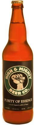 High & Mighty Purity of Essence - Strong Pale Lager/Imperial Pils