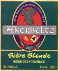 Akerbeltz Horaila &#40;Blonde&#41; - Golden Ale/Blond Ale