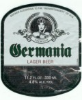 Germania Lager Beer - Pale Lager