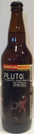 Midnight Sun 2008 Planet Beers: Pluto - Belgian Strong Ale