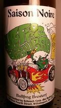 Bullfrog Saison Noire &#40;Bottle&#41; - Saison