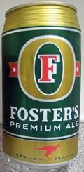 Fosters Premium Ale - English Pale Ale