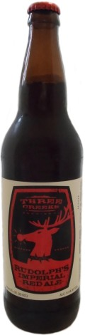 Three Creeks Rudolphs Imperial Red - American Strong Ale 