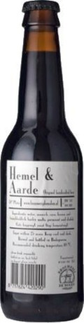 De Molen Hemel & Aarde &#40;Heaven & Earth&#41; - Imperial Stout