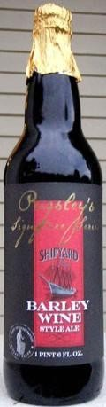 Shipyard Barley Wine Style Ale (Pugsley Signature Series) - Barley Wine