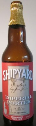 Shipyard Imperial Porter (Pugsley Signature Series) - Imperial/Strong Porter
